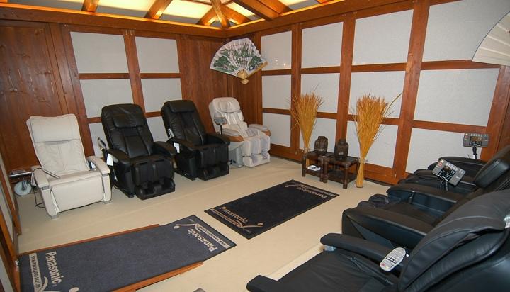 Testen Sie Massagesessel bei uns