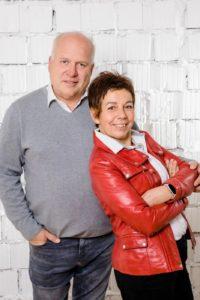 Herwig Kouba & Elisabeth Lang-Kouba von Panasonic Massagesessel